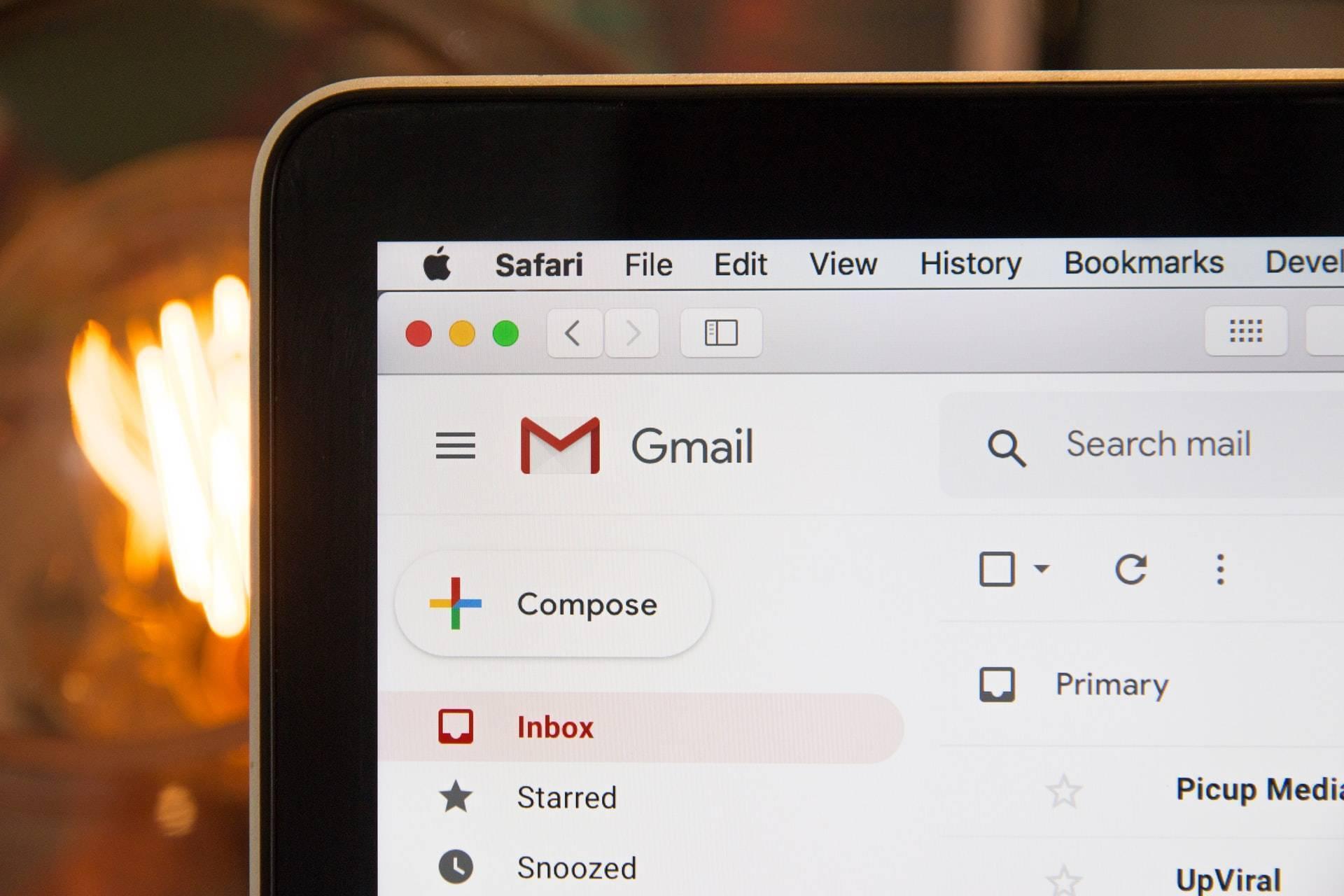 lap top email