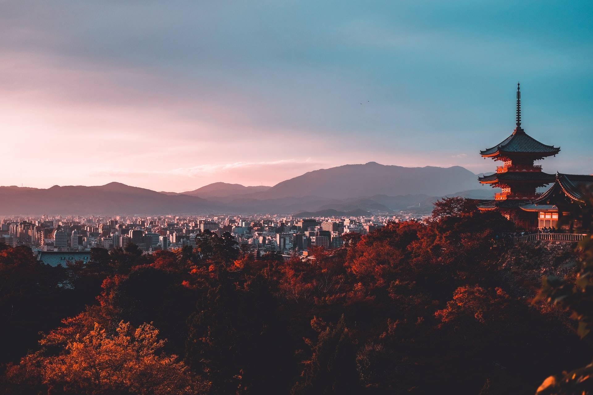 Kyoto Japan city